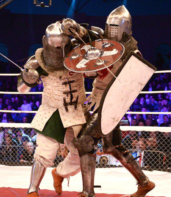 medi Russian MMA League Launch Armoured Knight Fighting Because Russia