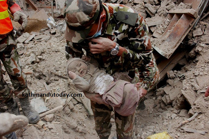 nepalbaby3 4 Month Old Baby Found Alive In Nepal Earthquake Rubble