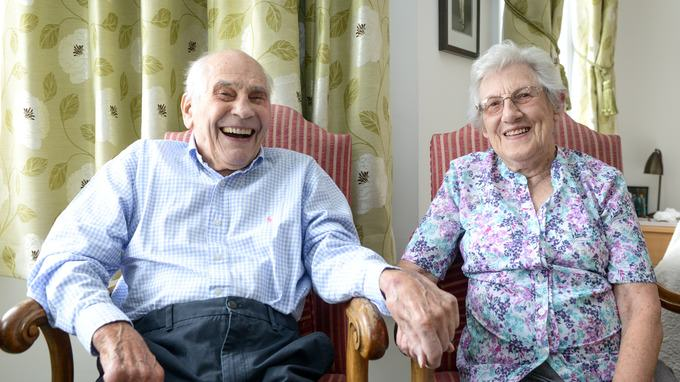Couple With A Combined Age Of 194 Set To Become Worlds Oldest Newlyweds newlyweds3