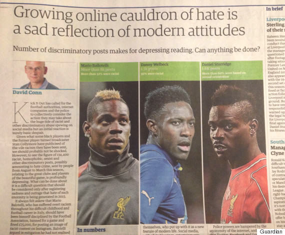 The Guardian Had An Absolute Howler With This Racism Story o RACISM OOPS 570