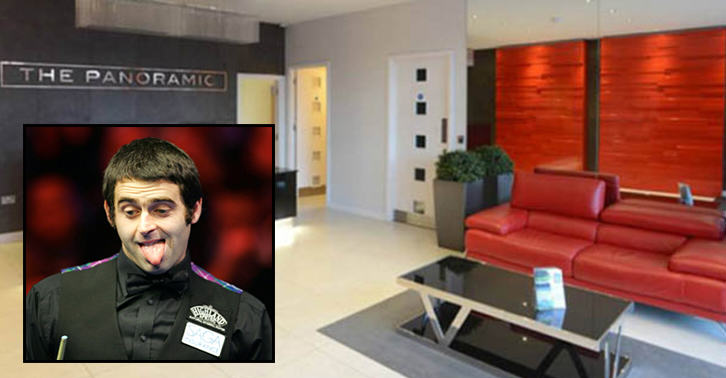 oiuyg Ronnie OSullivan Is Giving Away a £350K Apartment As A Prize In A £1.50 Raffle