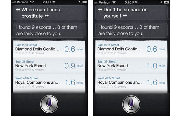 Need Sex Advice? No Problem, Ask Siri To Get Angelina, The Digital Erotic Assistant siri