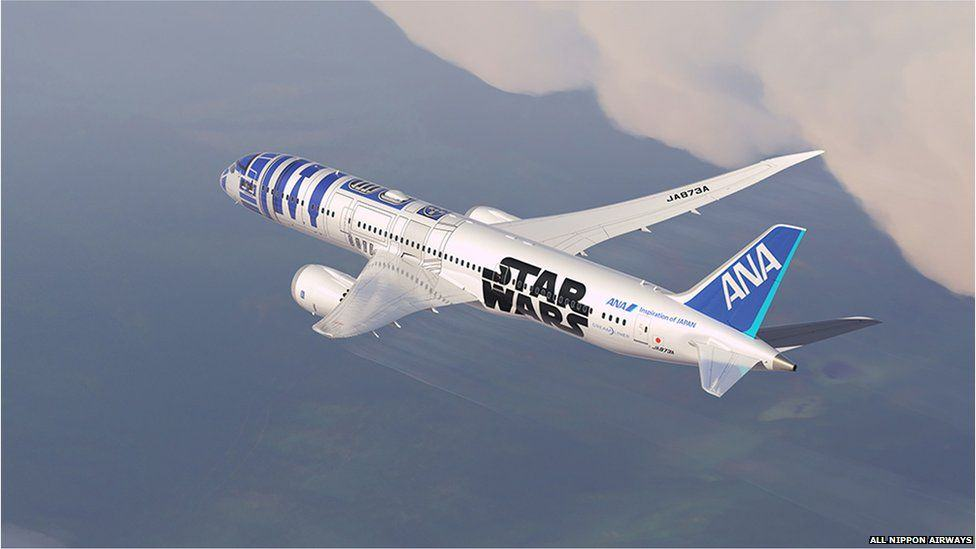 Japanese Airline Announce Plans For Star Wars Themed Plane, Obviously Looks Epic star wars3