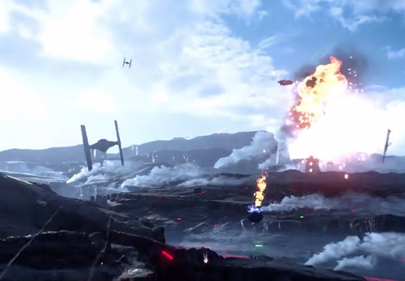 Star Wars: Battlefront Games Trailer Revealed And It Looks Insane starwars1WEBTHUMBNEW