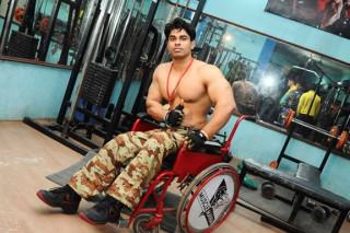 Man Who Was Paralysed At 15 Becomes Bodybuilding Champion