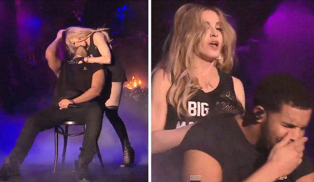 130 Madonna Says She Regrets Kissing Drake And That He Kisses Like A Girl