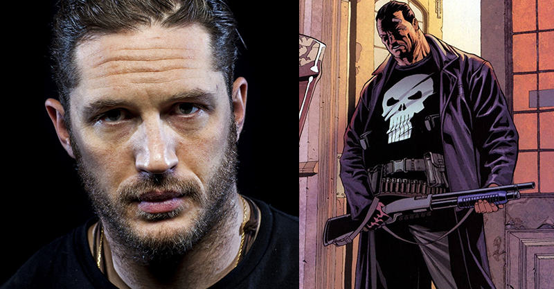 138 Tom Hardy Wants To Play Marvels The Punisher