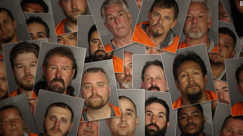 150519105906 texas biker mugshots collage exlarge 169 Police Confiscated 320 Weapons From Texas Biker Gang Shootout