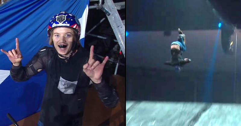 156 Nitro Circus Lad Finally Lands Scooter Triple Back Flip