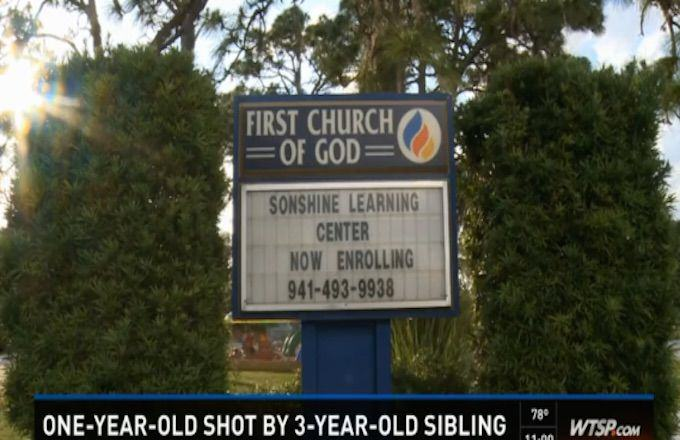 193 Three Year Old Boy Shoots His One Year Old Sister