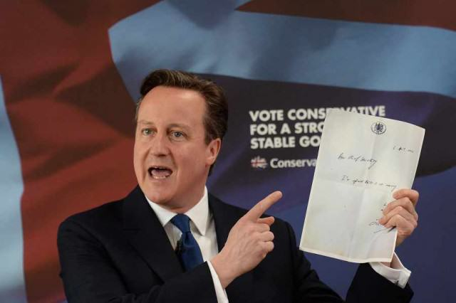 Is David Cameron Planning To Rob Us Of Our Human Rights? 1984 640x426