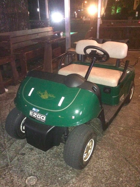 341 Two Fans Steal Golf Cart From PGA Event, Drive Five Miles To Bar