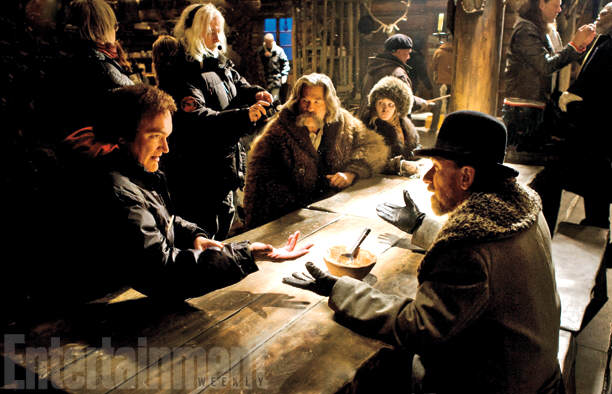 73 First Look Photos Of Tarantinos New Film The Hateful Eight Have Been Released