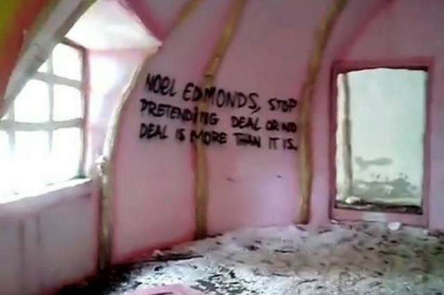 Mr Blobbys Abandoned House Is Now The Scene Of Illegal Raves Blobby 3 640x426
