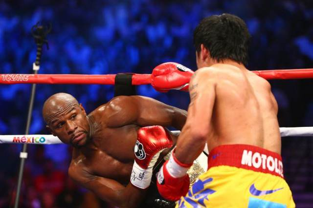 A Lot Of People Were Pretty P*ssed Off With Mayweather vs Pacquaio May Pac 640x426