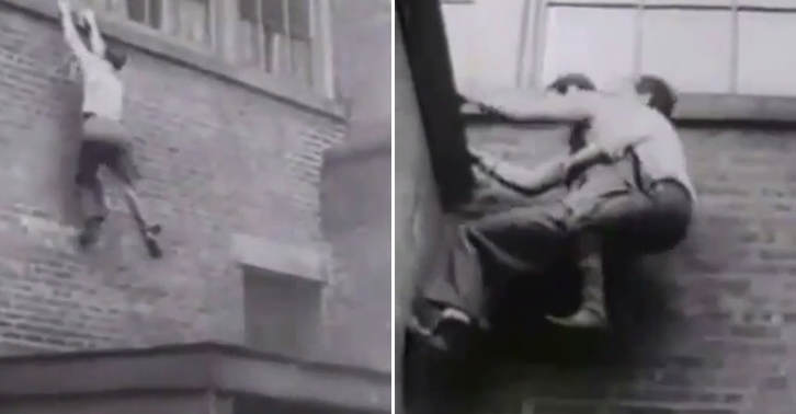 TN133 This Video From The 1930s Of The Original Parkour Is Amazing