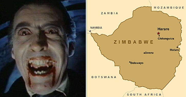 TN147 Vampire Killer Murdered Then Sucked The Blood Of 12 Women In Zimbawe