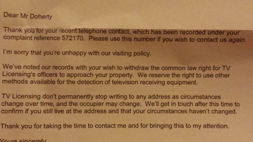 Read This And Never Pay Your TV Licence Fee Again TV Licencing