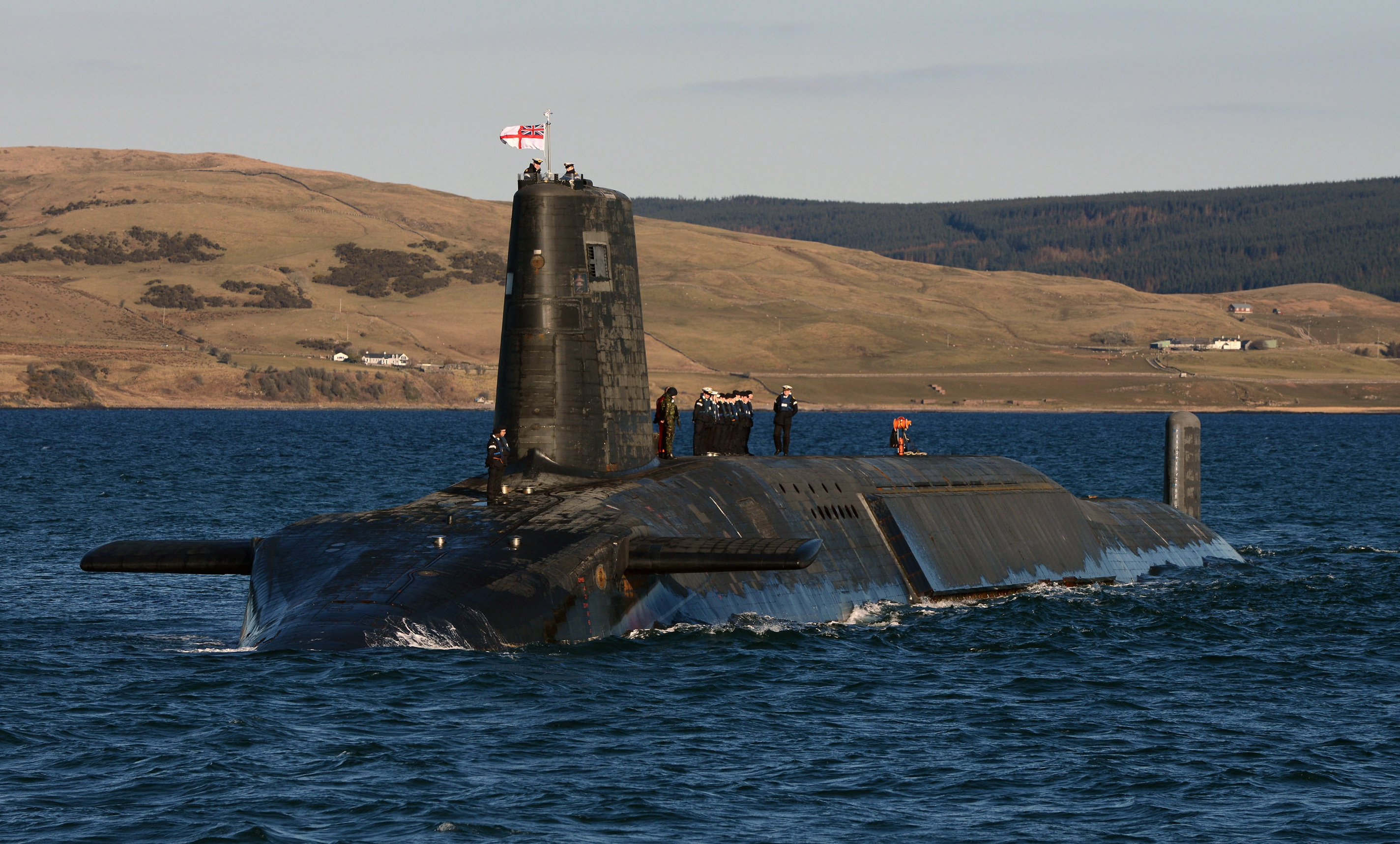 Trident Nuclear Submarine HMS Victorious Its Harder To Get Into Most Nightclubs   Declares Trident Whistle blower