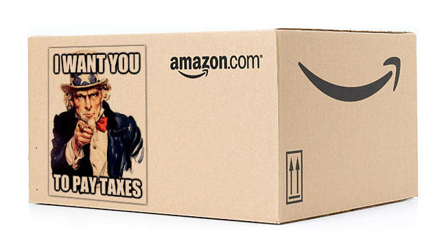 amazon Amazon Are Set To Start Paying Tax   Finally