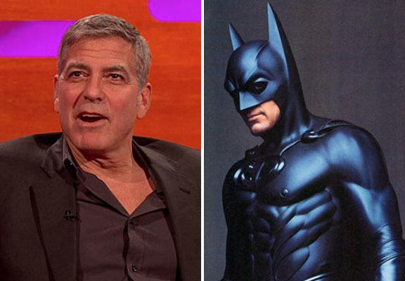 clooney batman WEB George Clooney Is Really Sorry For Ruining Batman, Not Sorry For Pranking Brad Pitt