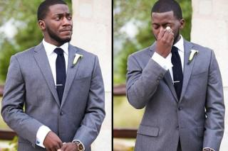 Guy Abused On Twitter For Crying On His Wedding Day Gets Last Laugh