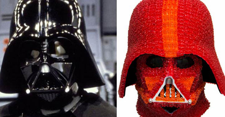 darth fb One Genius Has Created A Darth Vader Helmet Made Out Of Gummy Bears