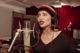 Emilia Clarke Sings Reggae In Coldplay's Red Nose Day Special