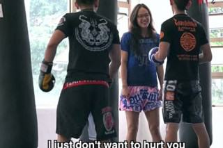Muay Thai Champion Pretends She Can't Fight, Trainers Get A Shock