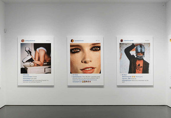 instagram art WEB This Artist Sold Other Peoples Instagram Photos For Nearly $100,000 At Art Show