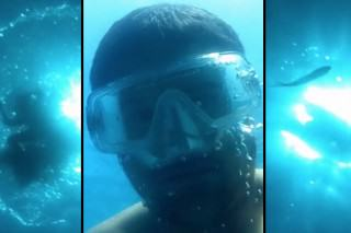 iPhone Falls To The Bottom Of The Ocean And Records The Whole Thing