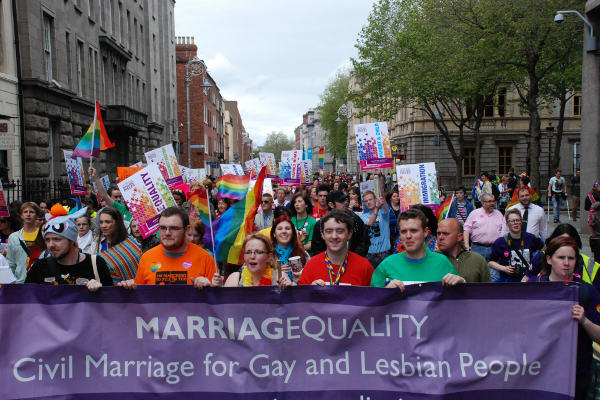 irish gay marriage 1 Ireland Could Be First Country To Legalise Same Sex Marriage By Popular Vote