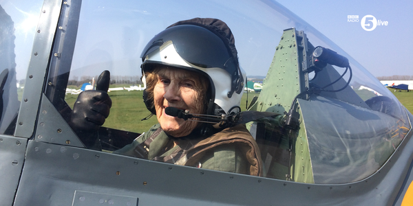 World War Two Veteran Flies Spitfire Again At 92 Years Old joy1