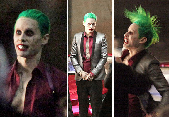 leto joker WEB The Joker Looks Crazy As F*ck In These Suicide Squad Set Photos