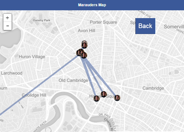 map11 New App Lets You See Facebook Friends Past And Present Locations