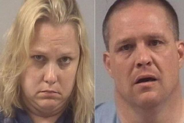 meth couple 640x426 School Teacher And Husband Busted After Meth Lab Found At Their Home