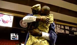 navy1 Navy Mum Surprises Her Son At His Graduation