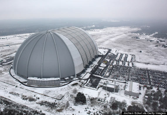 o 161955593 570 This Massive Aircraft Hangar In Germany Is Actually A Tropical Island Paradise