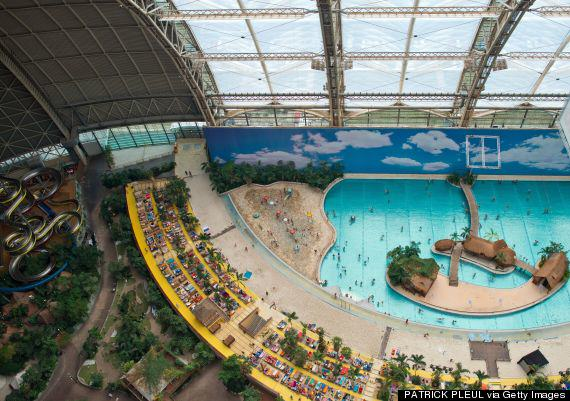 o 452776967 570 This Massive Aircraft Hangar In Germany Is Actually A Tropical Island Paradise