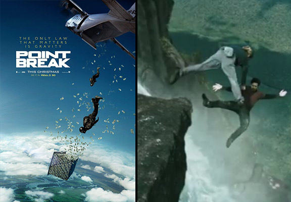 point break WEB Trailer For The Point Break Remake Is Here, Features A Lot Of Crazy Stunts