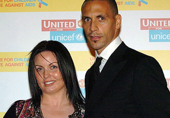 Rio Ferdinand Overwhelmed By Support After Death Of Wife Rebecca rio wife 1