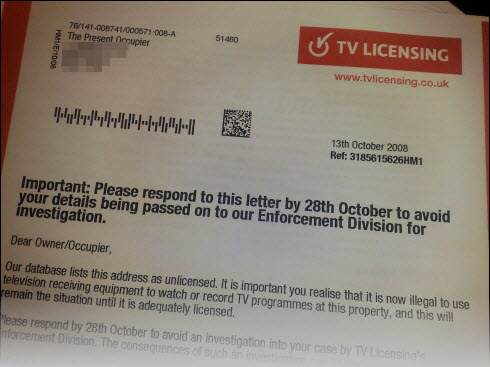 Read This And Never Pay Your TV Licence Fee Again tvlicensingletter