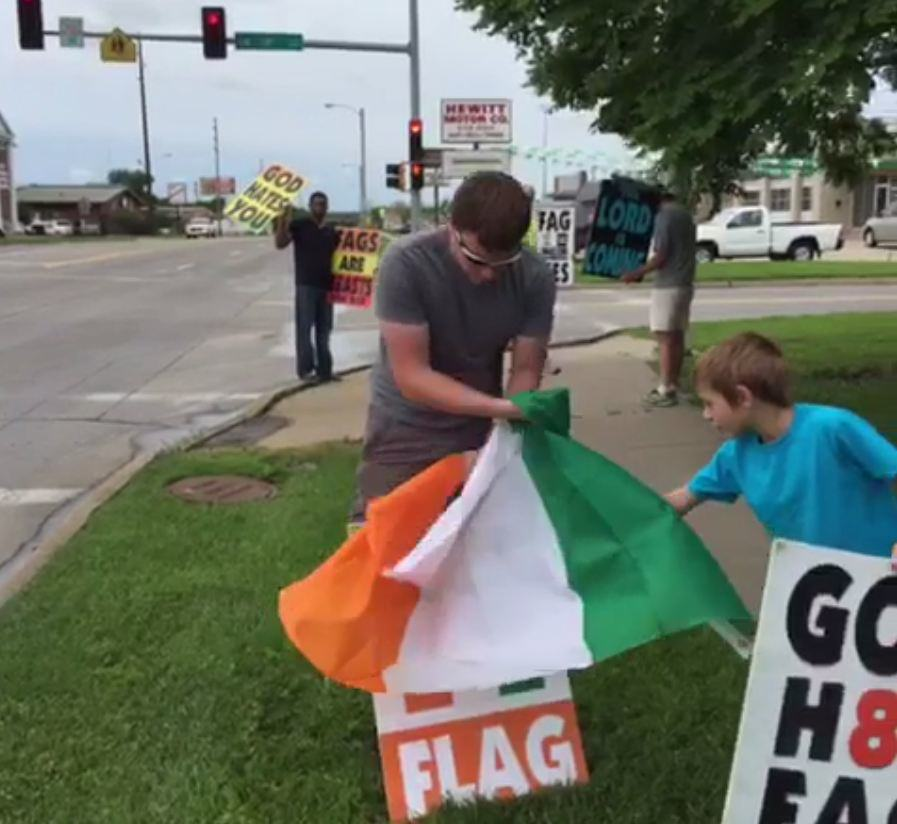Westboro Baptist Church Accidentally Hates The Ivory Coast westboro ireland 1