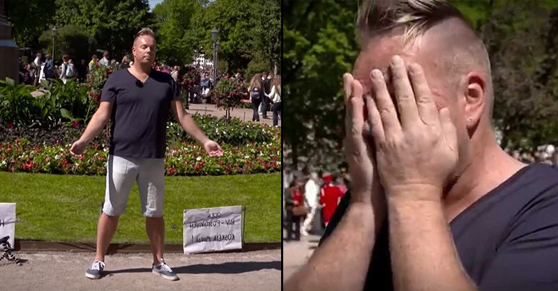 1141 HIV Positive Man Asks Strangers To Touch Him