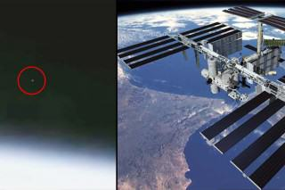NASA Cut ISS Live Feed When It Shows UFOs Leaving Earth, Apparently
