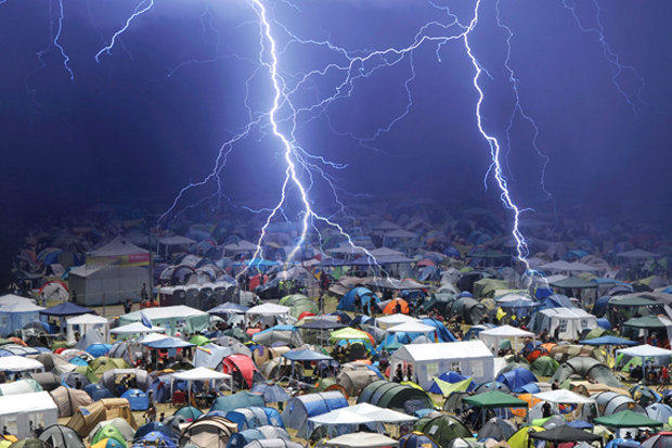124 33 People Struck By Lightening At Music Festival