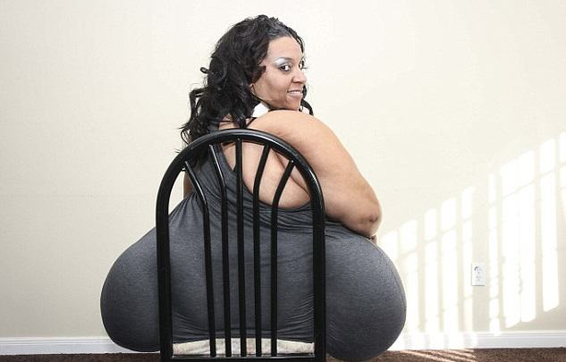 23 This Woman Officially Has The Biggest Bum In The World