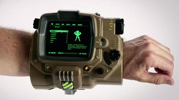 Fallout 4 Gameplay Released, Actual Pip Boy With Collectors Edition %name