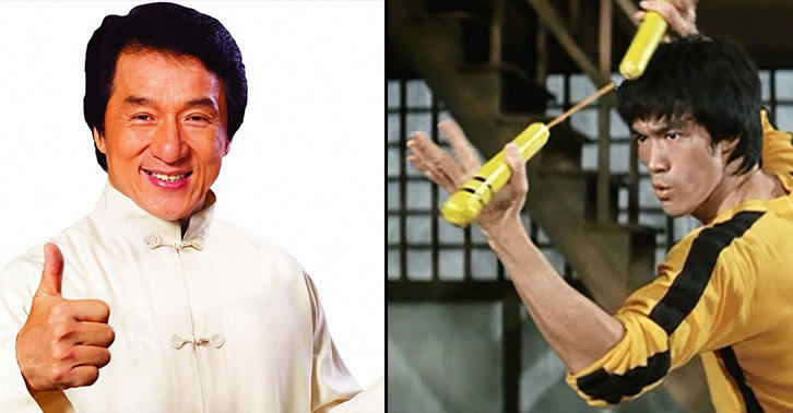 who would win in a real fight jackie chan or bruce lee old