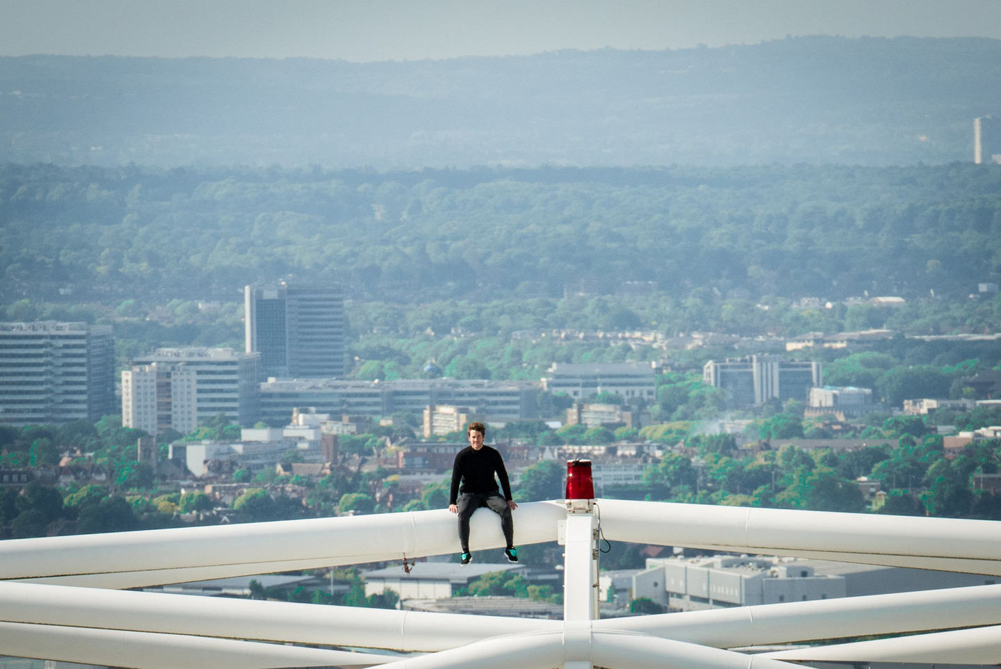 ap127759609581 James Kingston Is At It Again, Watch Him Walk The Arch Of Wembley Stadium